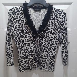 White House Black Market Sweater with 3/4 Sleeve